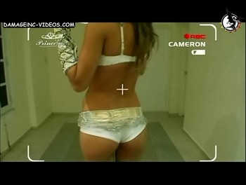 Argentina celebrity Paula Chaves hot ass in shorts