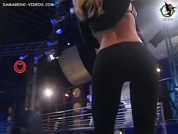 Flor Maggi hot ass in leggings